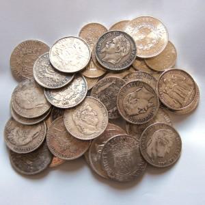 Pièces anciennes en argent
